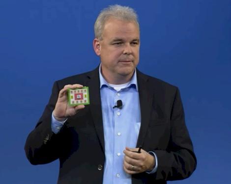 Martin Fink, CTO HP with memristor